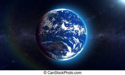 ziemia, pętla