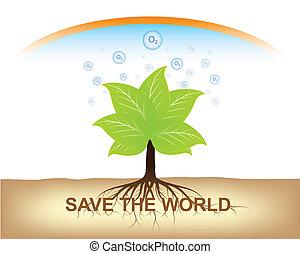 ziemia, utrzymywać, drzewo korzeń, gruntowy
