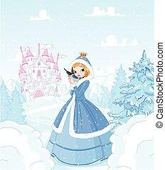 zima, księżna