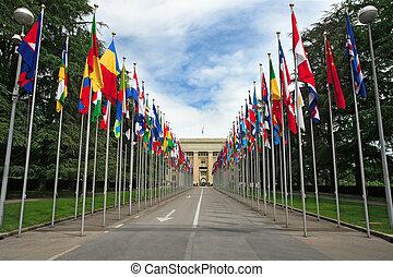 zjednoczony, genewa, narody