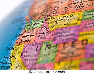 zjednoczony, globalny, -, pokojowe stany, północno-zachodni, studia