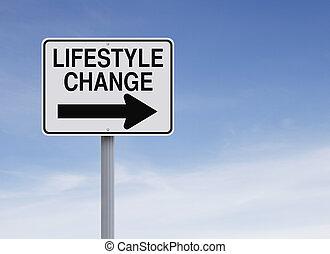 zmiana, styl życia