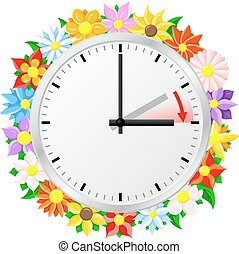 zmiana, zbawczy, czas, światło dzienne
