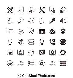 zmontowanie, ikony