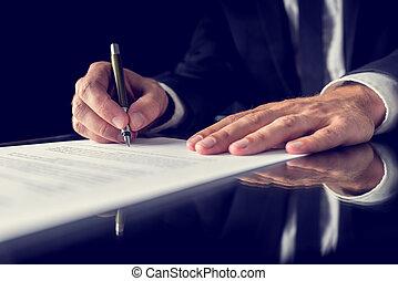 znaczący dokument, prawny