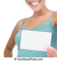 znak, /, handlowa karta, czysty