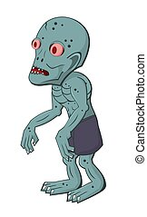 zombie, 1, rysunek