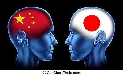 związek, japonia, porcelana, handel