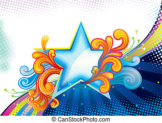 zwierzchnik, gwiazda